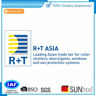 Sunfree Blinds in R+T Asia 2019